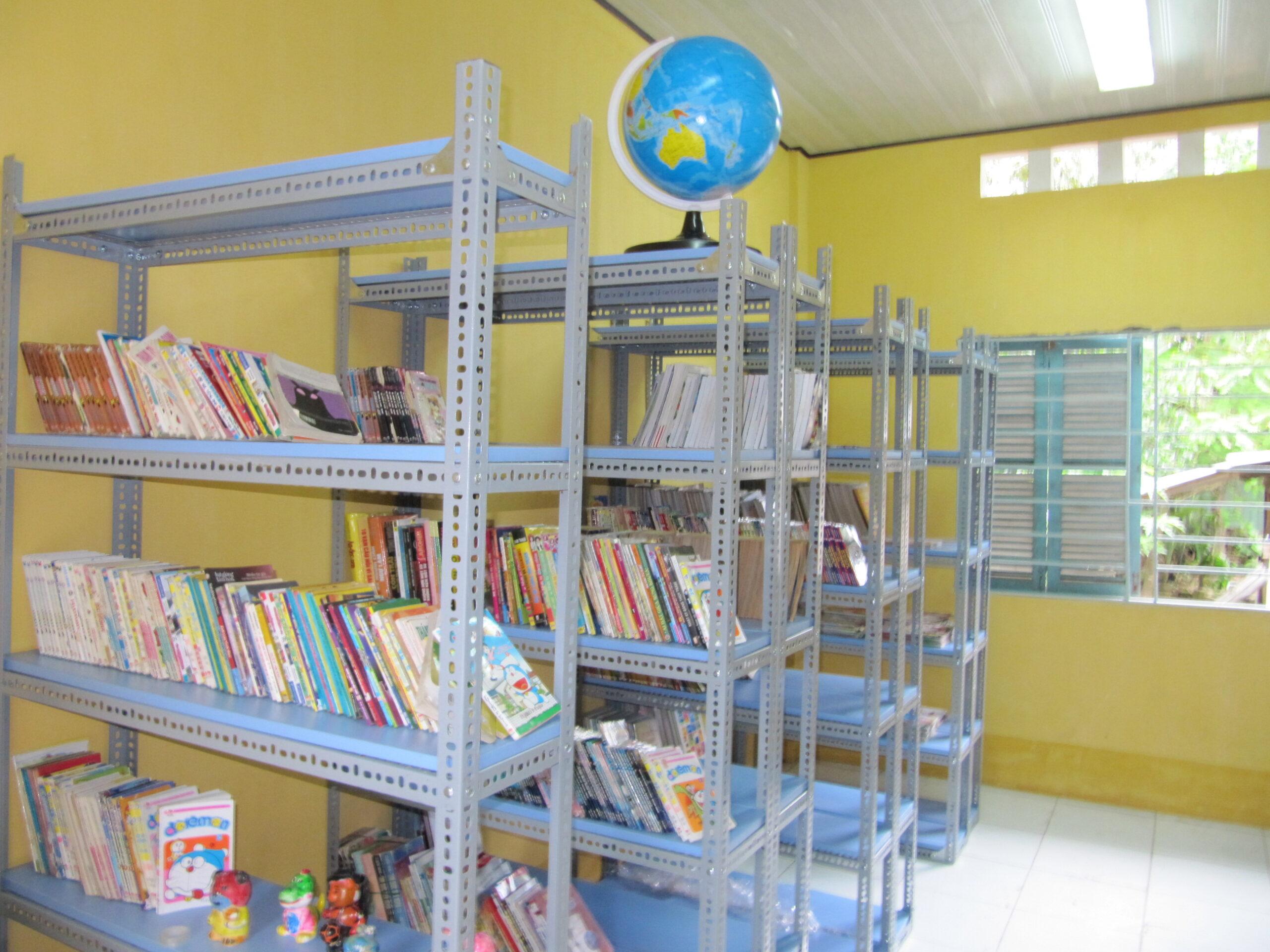 Sắc màu Khơ Me- Thư viện 2030 năm 2011
