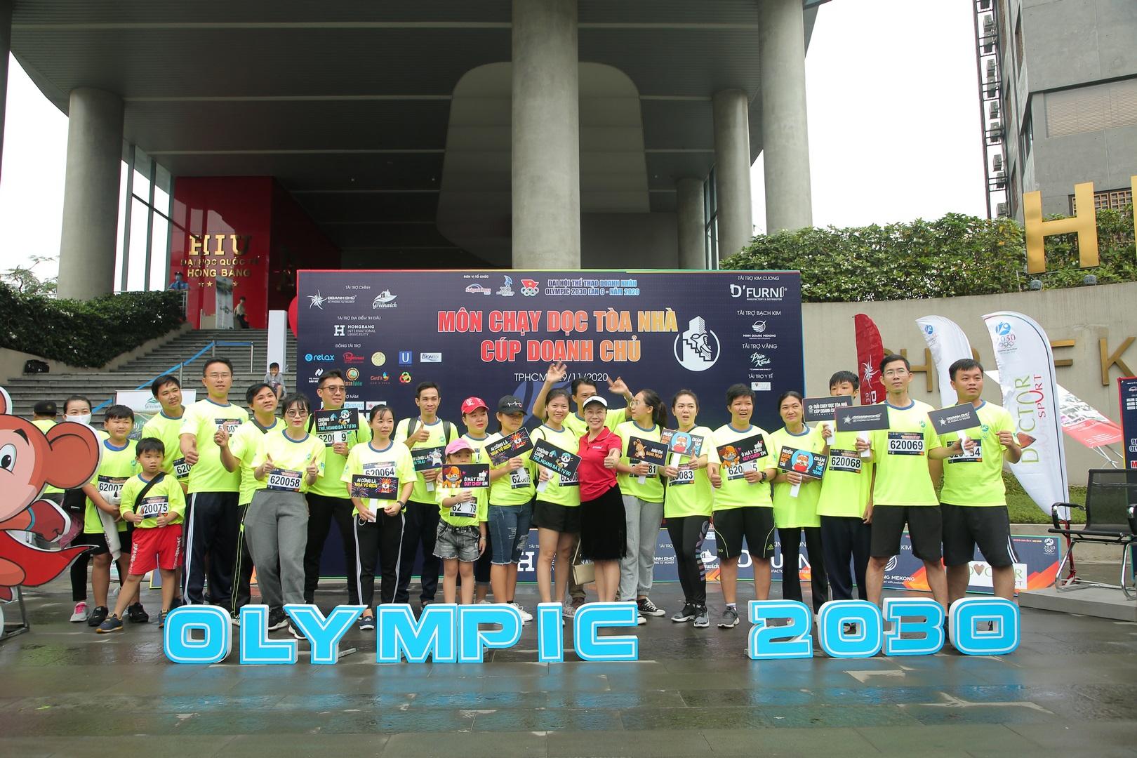 Sôi động mùa giải Olympic 2030 & cuộc đua Chạy dọc tòa nhà Cúp Doanh Chủ